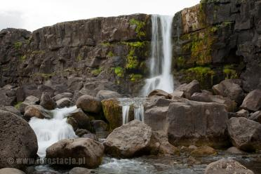 Oxarafoss - Öxarárfoss in Þingvellir National Park