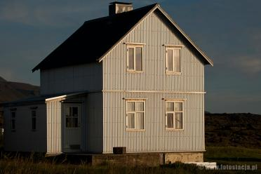 Typical house on Iceland